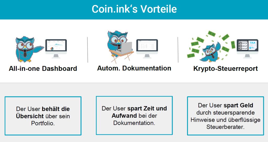 coin.ink vorteile bitcoin steuer