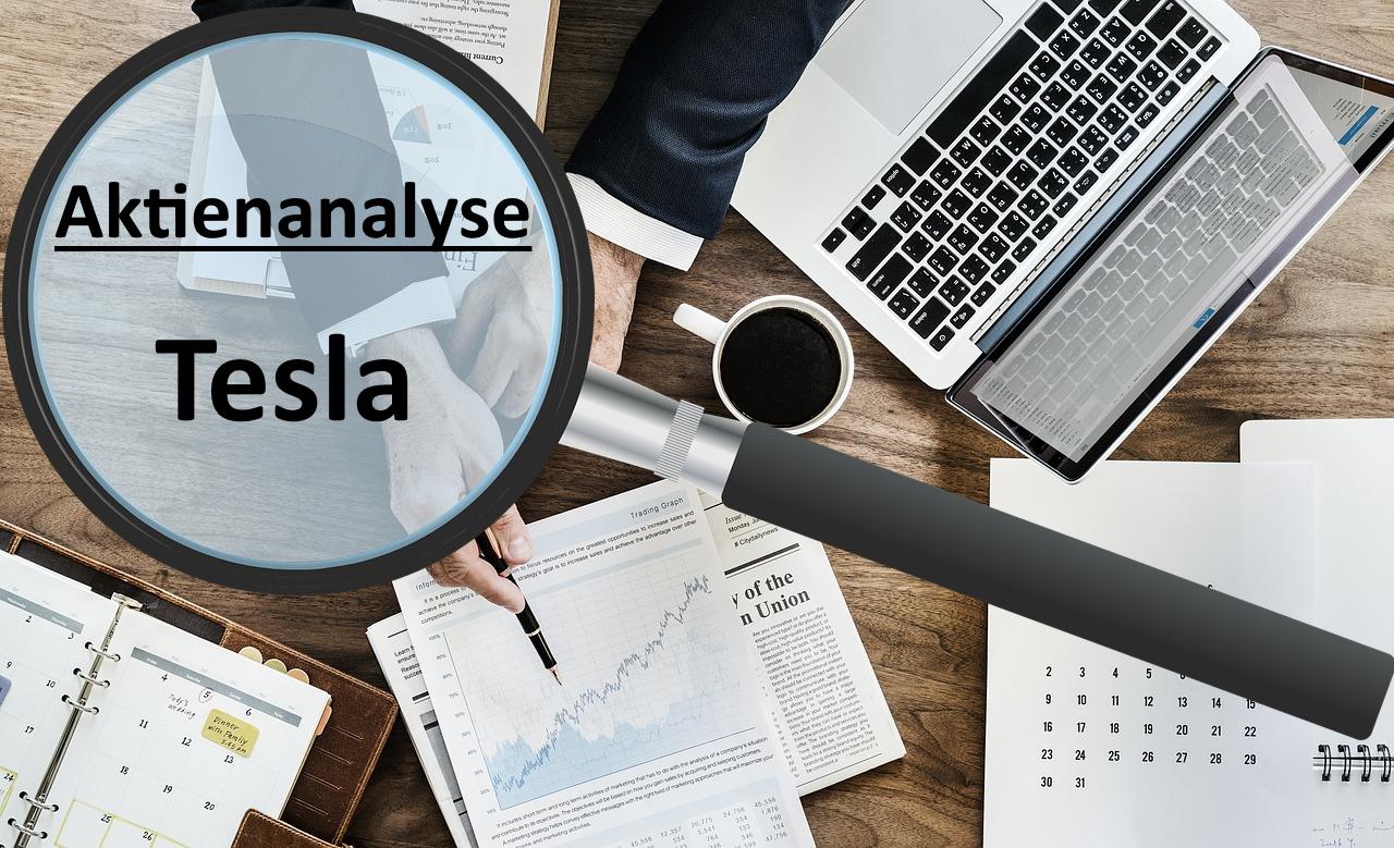 Aktienanalyse Tesla – Chartanalyse und Fundamentalanalyse