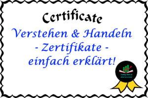 Einfach erklärt: Zertifikate verstehen und handeln